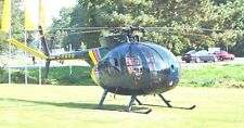 MD 500 Light Utility US Helicopter Wood Model Replica Small Free Shipping