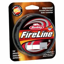 Berkley FireLine Fused Original Braided Fishing Line Smoke 8lbs 125yds BFLFS8-42