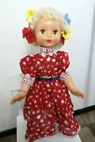Best condition! RARE VINTAGE PLASTIC DOLL USSR (RUSSIA,Russian) 60cm Doll