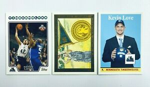 Kevin Love 2008 Topps Rookie Card Lot 3 Rookies Timberwolves