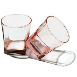 Wasser- und Saftglas rosé, 310 ml, 3er Set