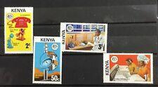 KENYA # 56-59.  TELECOMMUNICATION DEVELOPMENT. . MNH