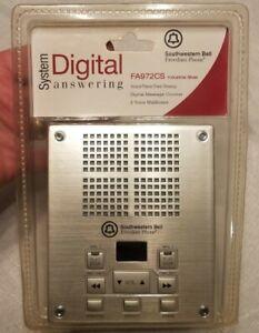 Southwestern Bell Freedom Phone Digital Answering Machine FA972CS Brand New