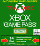 Xbox Game Pass Ultimate - 14 Day Tiral Member Xbox Live Gold + Game Pass Instant