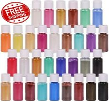 32 Colors - Mica Powder Pigment Pure Pearl Epoxy Resin for DIY - FREE SHIPPING!!
