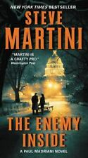 THE ENEMY INSIDE Steve Martini BRAND NEW BOOK Case Fresh Gift Quality!