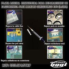 PLATA LIQUIDA CONDUCTORA REPARACION PISTAS SOLDADURAS PADS PCB ELECTRONICA 02ML