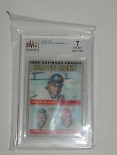 1970 TOPPS #65 MCCOVEY/AARON/MAY HR LEADERS BECKETT GRADED *BVG 7 NEAR MINT*
