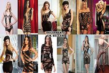 Hot Dress Sexy Lingerie Bodystocking Crotchless Bodysuit Nightwear Teddy Summer