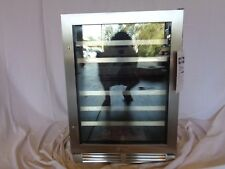 """Whirlpool Wuw55X24Ds 24"""" Stainless Under-Counter Wine Center"""