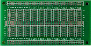 Breadboard style PCB perfboard veroboard stripboard prototyping board 520 holes