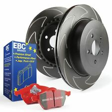 EBC Rear BSD Brake Discs and Redstuff Pads Kit For Ford Focus Mk2 ST 2.5 Turbo