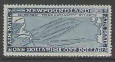NEWFOUNDLAND SG197 1931 $1 DEEP BLUE MTD MINT