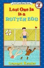 Kids new hardcover:Last One In is A Rotten Egg-boy afraid to swim-pushed in pool