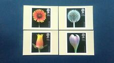 1987 FLOWER PHOTOGRAPH STAMPS PHQ CARDS WITH A RICHMOND SURREY PICTORIAL F.D.I.