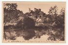*** Montoire - Le Château et les bords du Loir (côté Nord-Est) *** SD - CPA 1287
