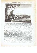 "1825 San Pascual Baylón Yubero ""Saint Paschal Baylon"" (Torrehermosa-Villarreal)"