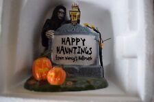 Dept 56 Halloween Ceramic Sign For Nancy'S Hallmark #06221 (yy1017T)