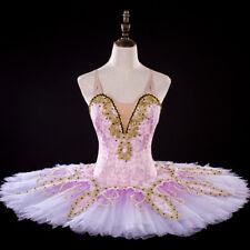 Pink Classical Professional Ballet Tutu Sugar Plum Fairy Competition Festivals