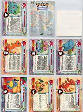 Complete Topps Pokemon Series 1 GREEN logo Set - 90 new TV Animation cards!