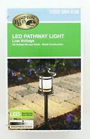 Hampton Bay Landscape Path Light Outdoor Integrated LED Oil Rubbed Bronze