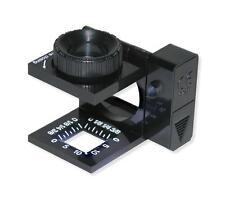 Carson Lt-10 LinenTest Magnifier Lighted 11.5X Linen Tester Dual Lens Measuring