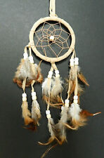 NEW CREAM DREAM CATCHER CHILDRENS BEDROOM GIFT CAR PARTY BAG FILLER DREAMCATCHER