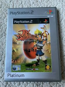 JAK AND DAXTER THE PRECURSOR LEGACY - PS2 PLAYSTATION 2