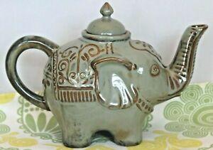 Pier 1 Elephant Teapot