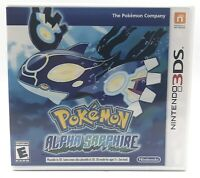 Pokemon: Alpha Sapphire 3DS (Nintendo 3DS, 2014) - CIB, TESTED AUTHENTIC FAST