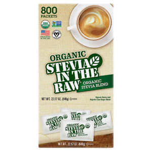 🔥 Stevia in the Raw Organic Stevia Blend, 22.57 oz.  Pack of 800 🔥