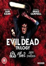 Evil Dead Trilogy - Evil Dead / Evil Dead 2 / Army Of Darkness Blu-Ray NEW BLU-R