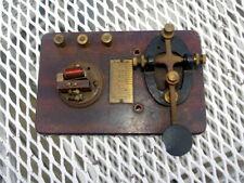 Vintage Telegraph Key Signal Electric Mfg. Co. Morse Code Telegraph Key