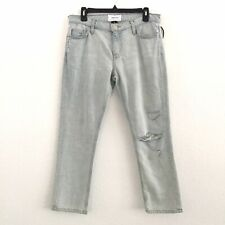 NEW Current Elliot Size 28 Cropped Jeans In Channon Destroyed Wash