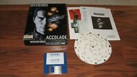 """Hoverforce Commodore Amiga on 3.5"""" disk with box, manual and wheel"""
