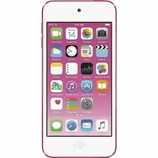 NEW Apple iPod touch 6th Generation Pink (16 GB) LATEST MODEL - MKGX2LL/A