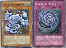 Authentic Adrian Gecko Deck - Cloudian Eye of The Typhoon - Yugioh - NM 40 Cards