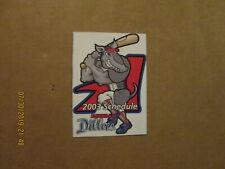 United League Baseball Amarillo Dillas Vintage Defunct 2003 Logo Pocket Schedule
