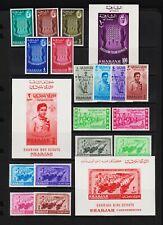 Sharjah - 3 commemorative sets, mint, cat. $ 28.85