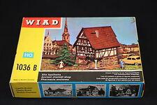 W392 WIAD Train MaquetteHo 1036B Pharmacie ancienne  Alte Apotheke Chemist shop