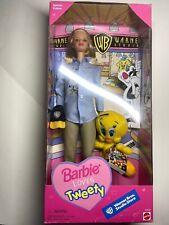 Barbie Doll Loves Tweety Bird Warner Bros. Special Edition 1998 Mattel Nrfb Vtg