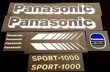 Panasonic Sports-1000 Decal Set (sku 10465)