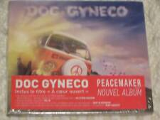 RARE DOC GYNECO  peace maker  CD ALBUM 13T AVEC DUO JOHNNY HALLYDAY ( la rue )