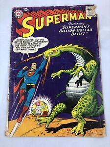 SUPERMAN # 114, July 1957, DC Silver Age