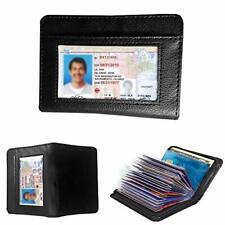 Lock Wallet As Seen on TV Amazing Slim RFID Black Leather Wallet Fraud Protect U