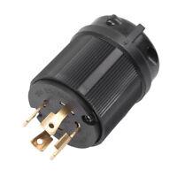 NEMA L14-30P Twist Lock Plug AC 4 Prong 30A 125V-250V Generator RV Industrial