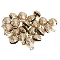 MagiDeal Brass Bell Tiny Decor Tiger Head Bracelet Chinese Feng Shui 2 cm