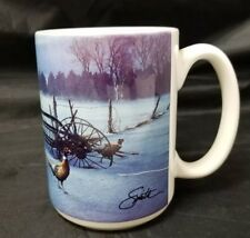 Hadley Collection Coffee Mug: Windswept by Dainel Smith, 1996, Pheasant, Farm