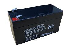 12v 12 Volt 1.3Ah Sealed Rechargeable Lead Acid Battery – Burglar Alarm Back Up