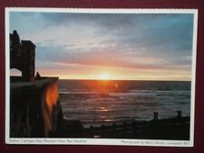 POSTCARD CARDIGANSHIRE CARDIGAN BAY - SUNSET